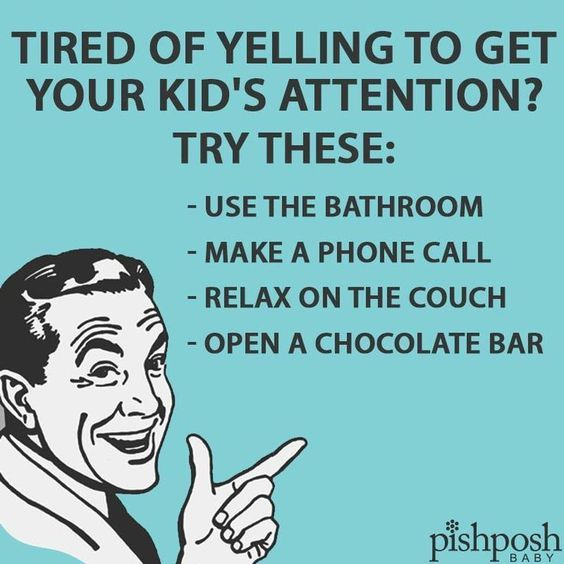 Tired Of Yelling To Get Your Kids Attention? Pictures