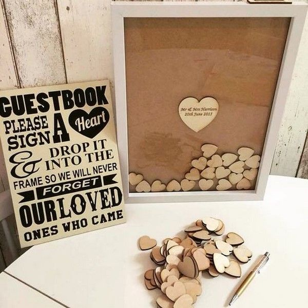 Modern And Fun Guest Book Ideas