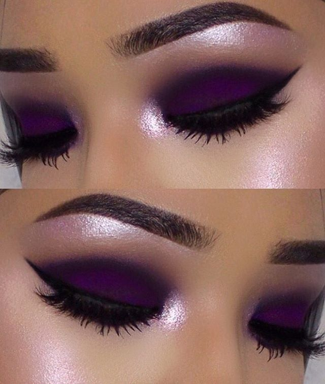 deep purple makeup idea pictures photos and images for