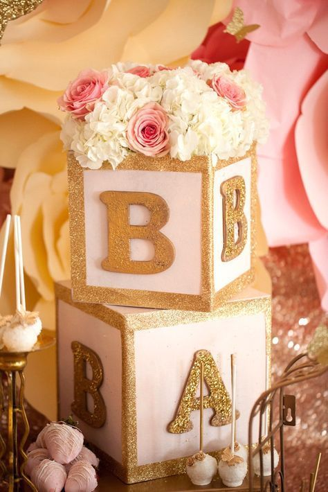 Baby Shower Blocks Pictures Photos and Images for