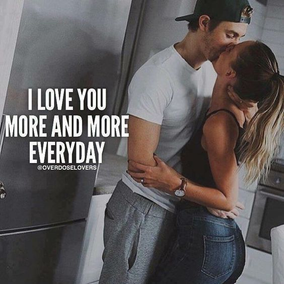 I Love You More Than Quotes: I Love You More And More Everyday Pictures, Photos, And