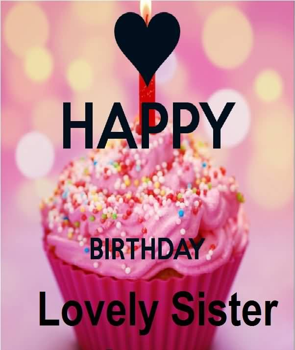 Happy Birthday Lovely Sister Pictures, Photos, And Images