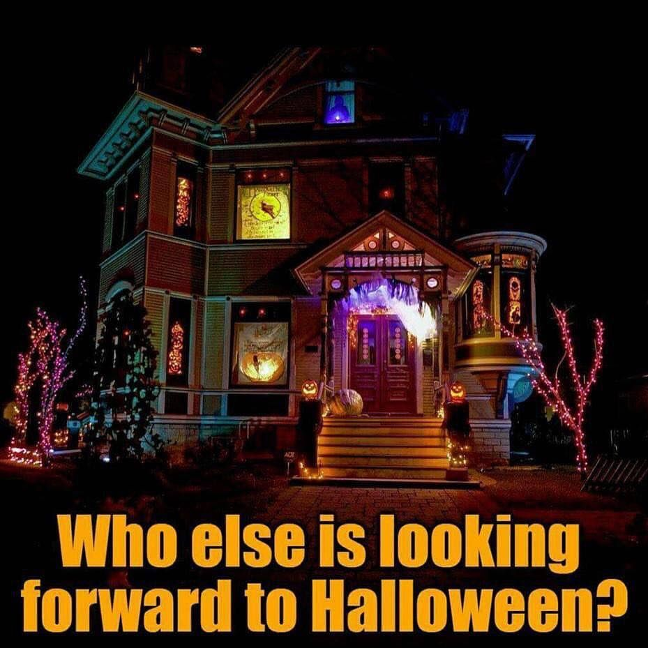 Who else is looking forward to Halloween?