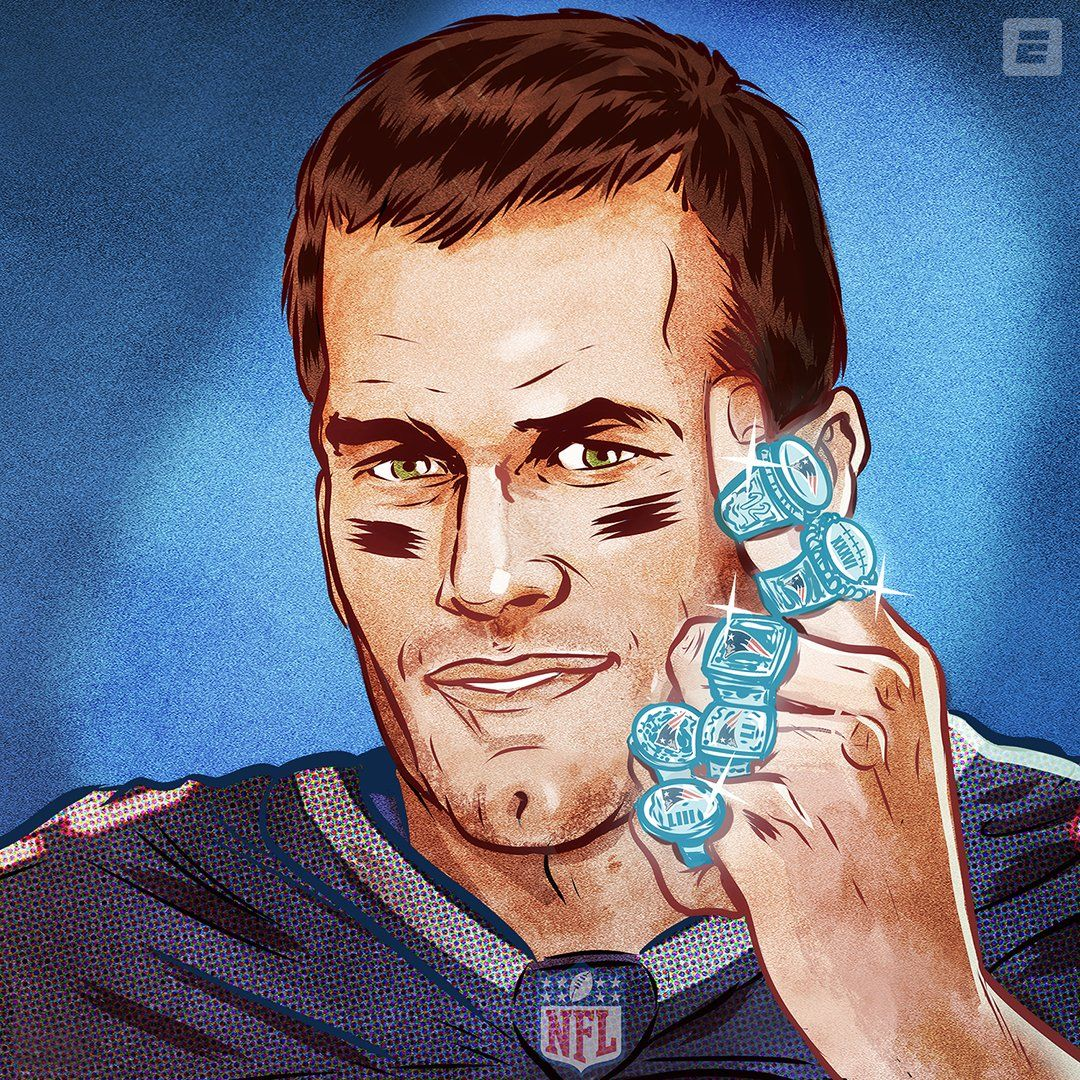 6 Super Bowl Rings For Tom Brady Pictures, Photos, and
