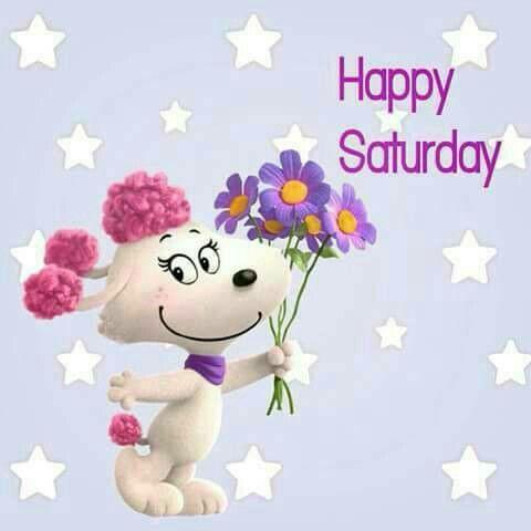 Mrs Snoopy Happy Saturday Quote