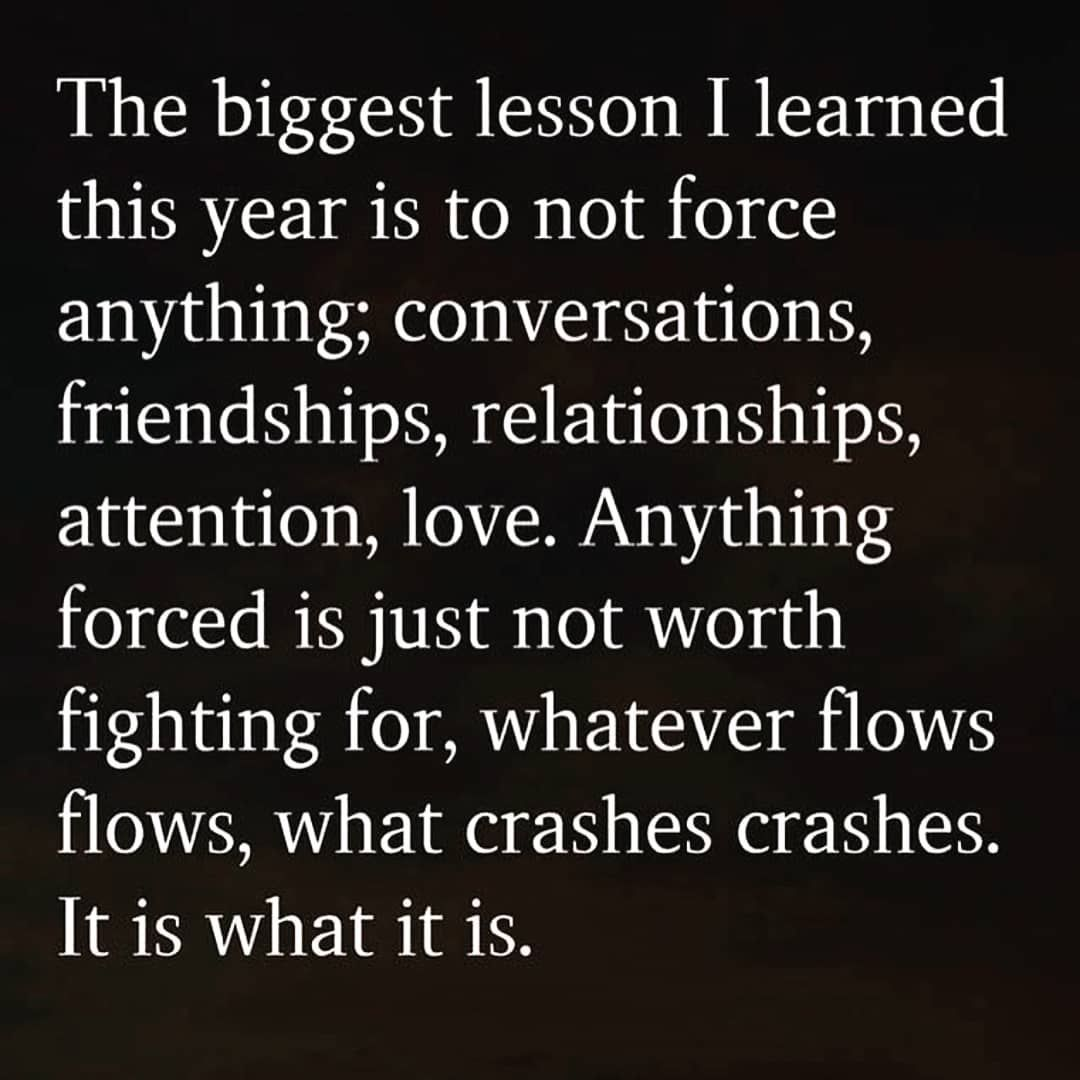 The biggest lesson i learned this year