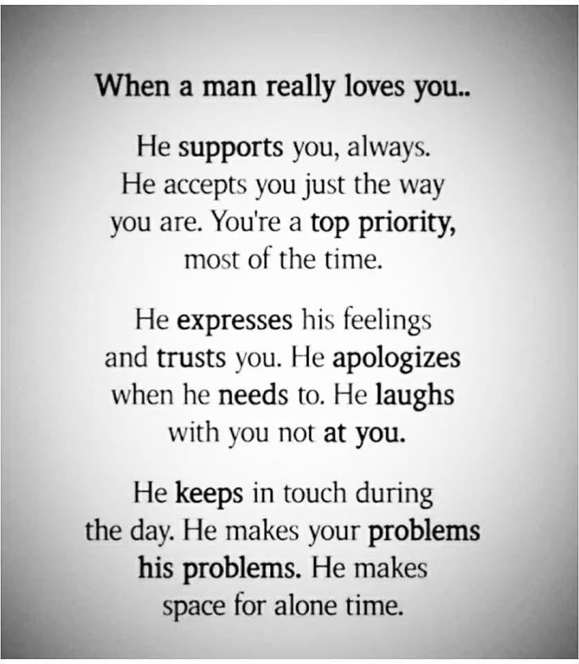 When A Man Really Loves You Pictures, Photos, and Images
