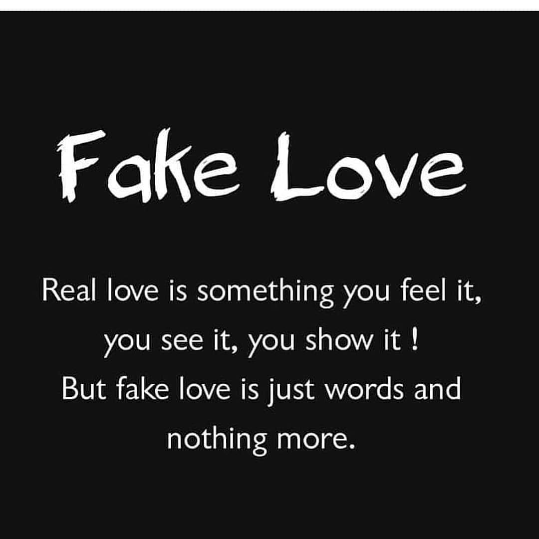 Fake Love Wallpapers: Fake Love Pictures, Photos, And Images For Facebook