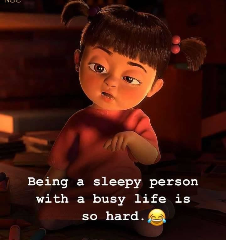 Being a sleepy person with a busy life is so hard