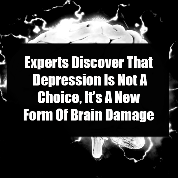 Experts Discover That Depression Is Not A Choice, It's A ...