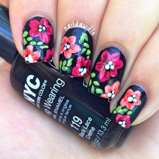 Nail Cake Jan Weiss Yellow Petals Inspired Nail Art: 10 Floral Nail Art Ideas You Will Love
