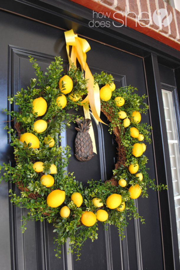 10 Pretty Spring Wreath Ideas