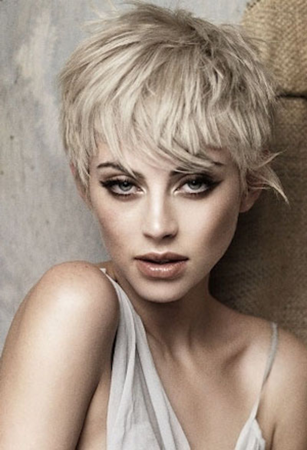 Pictures Of Short Funky Hairstyles For Women for round face