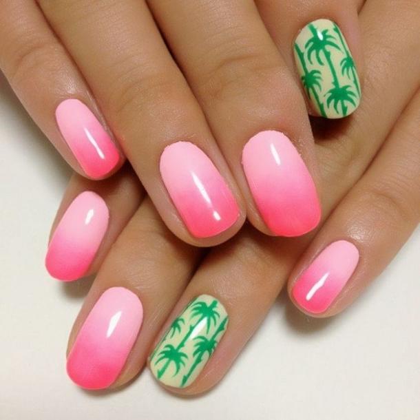 11 Tropical Summer Nails Designs