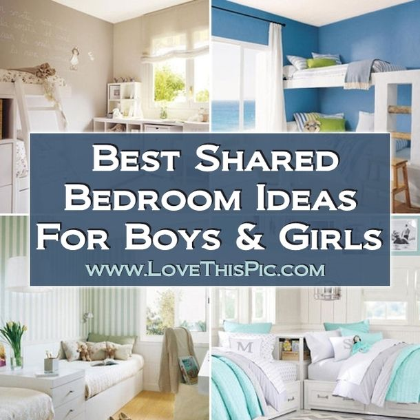 Shared Boys Geometrical Bedroom: Best Shared Bedroom Ideas For Boys And Girls