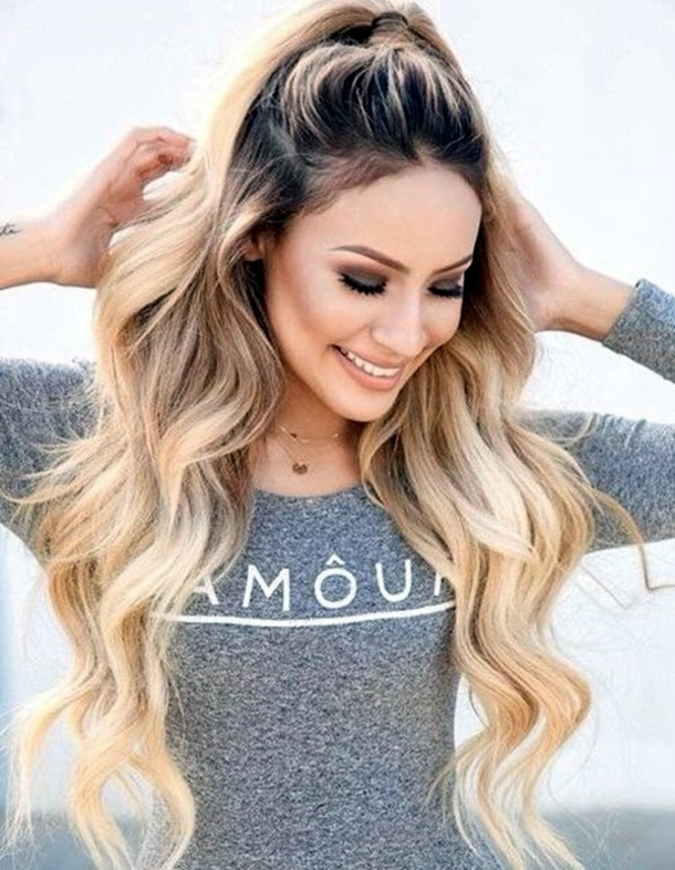 2016 Long Thick Hairstyles For Women