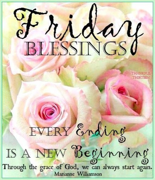 Friday Blessings Quotes 60 Friday Blessing Quotes And Sayings Friday Blessings Quotes