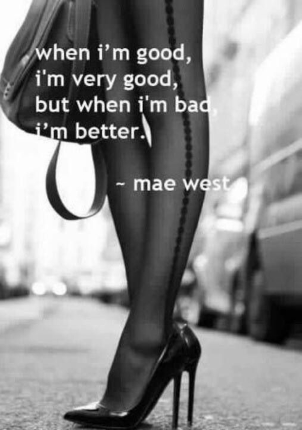 i am a bad girl quotes - photo #36