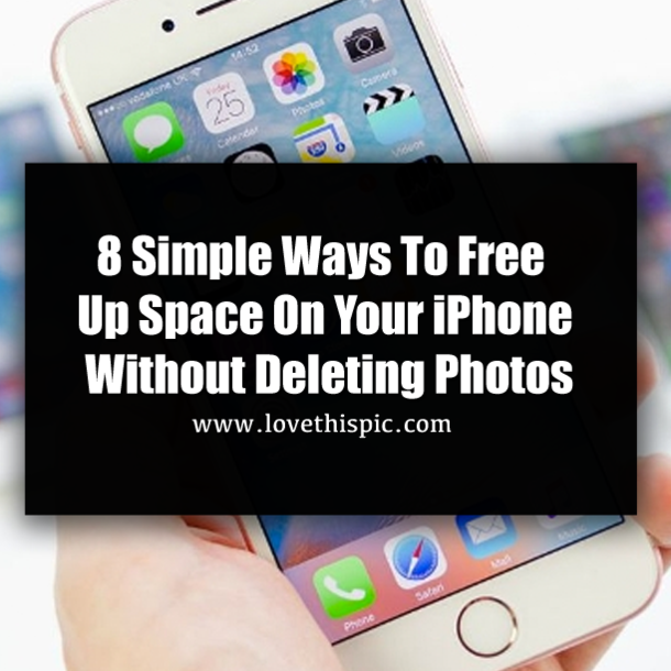 how to free up space on iphone 8 simple ways to free up space on your iphone without 20069