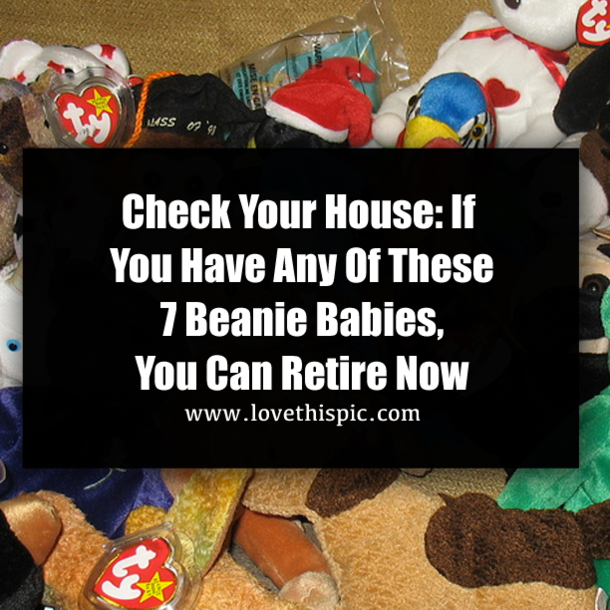 Check Your House If You Have Any Of These 7 Beanie Babies