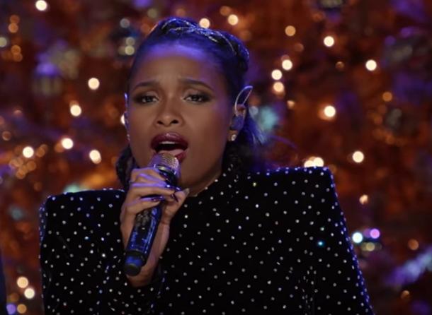 A Very Pentatonix Christmas.Jennifer Hudson Steps On Stage With Pentatonix For A