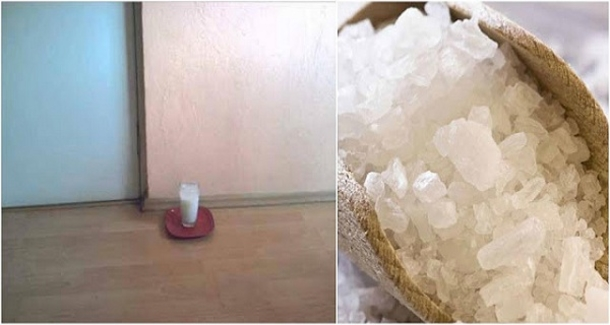 Put a Glass of Water with Salt and Vinegar in Any Part of Your Home… After 24 Hours you Will be Amazed at the Result! - Daily Magazine