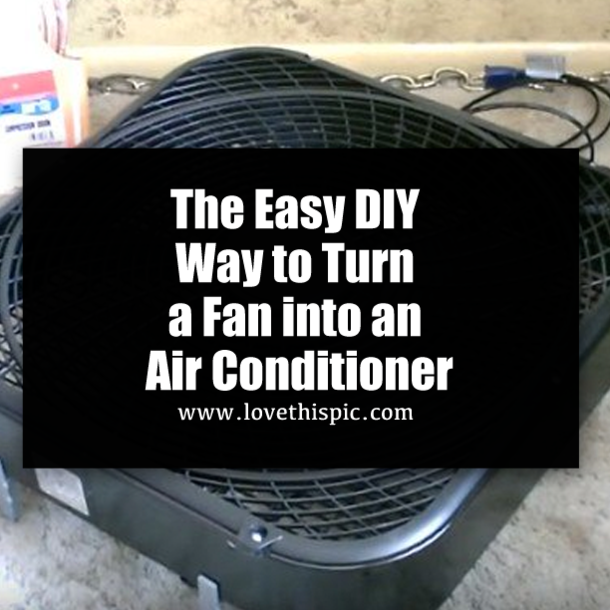 turn air conditioner into cooler