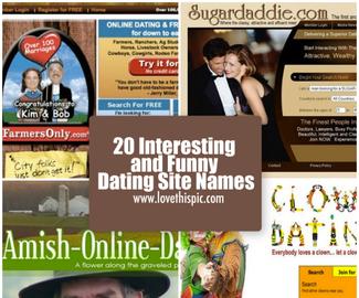 humor Dating Sites navn og skam Internett dating