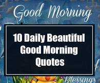 Inspirational Good Morning Quotes s