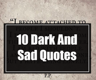 Sad Quote Pictures, Photos, Images, and Pics for Facebook