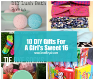 10 Diy Gifts For A S Sweet 16