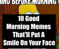Good Morning Saturday Memes