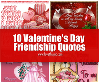 10 Valentine's Day Friendship Quotes
