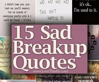 Best love breakup quotes with images
