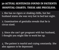 Funny Sayings Pictures Photos Images And Pics For Facebook - 30 dumbest sentences found in patients hospital charts