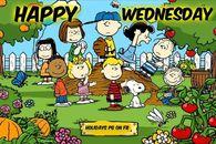 Peanuts Gang Happy Wednesday