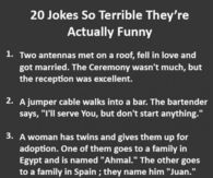 Funnysayings Pictures Photos Images And Pics For Facebook - 21 jokes awful theyre actually funny