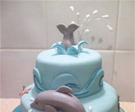 Dolphin Themed Cake Pictures Photos Images And Pics For Facebook