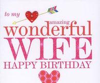 Happy Birthday Wish For Wife