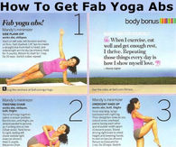 How To Get Fab Yoga Abs