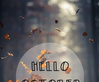 Autumn Leaves Hello October Quotes