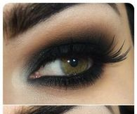 Dark Smokey Eye Makeup Tutorial