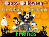disney happy halloween to all my facebook friends