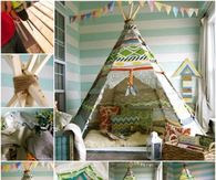 how to make a life size teepee