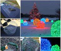 Christmas diy pictures photos images and pics for facebook diy christmas light balls solutioingenieria Choice Image