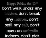 Friday The 13th Quotes Funny Friday The 13th Quotes Pictures, Photos, Images, and Pics  Friday The 13th Quotes