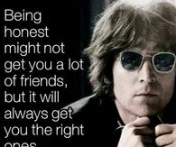 John Lennon Quote About Honesty