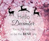 Hello December You Are The Last One So Be Best