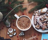 Hello December Christmas Image