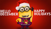 Hello December, Happy Holidays